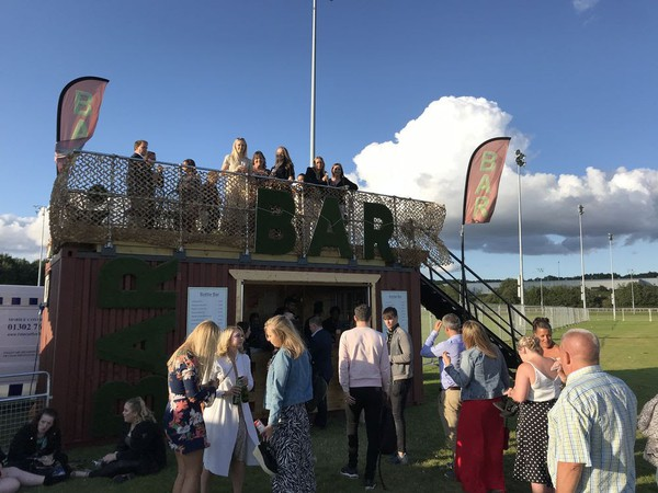 Shipping Container Bar & Roof Terrace