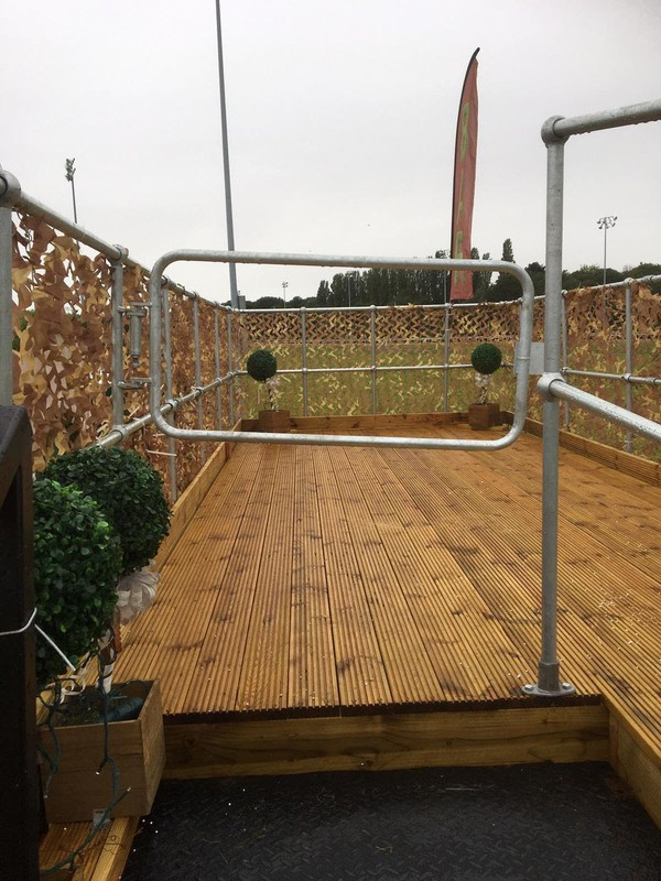 Shipping Container Bar & Roof Terrace conversion 20ft
