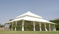 PREMIUM MUGHAL Tent 13 x 13m With Palm Lining AND Blackout Lining