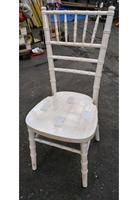 Limewash Wood Chiavari Chairs for sale