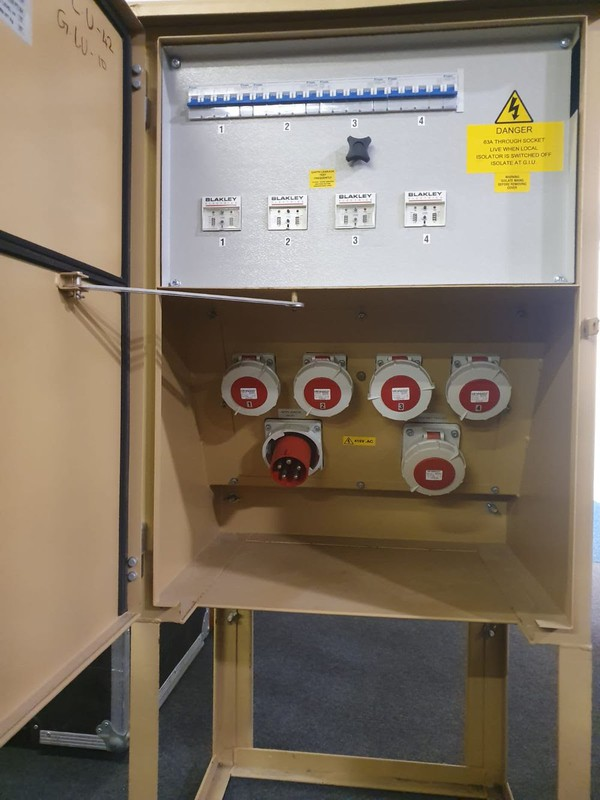 3 Phase Power distro unit