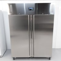 New B Grade Polar U635 Stainless Double Upright Freezer