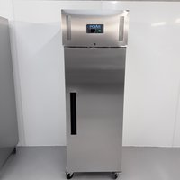 New B Grade Polar G593 Stainless Single Upright Freezer