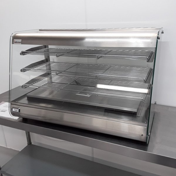 Counter top heated display