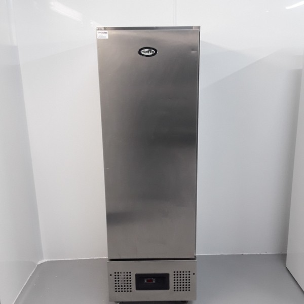 Used Foster  Stainless Single Upright Fridge (10751)