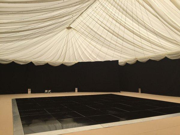 Grumpy Joe's Black Acrylic Dance Floor   24' x 24' Ashford, Kent