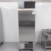 New B Grade Ice-A-cool ICE8950GR Stainless Single Upright Fridge