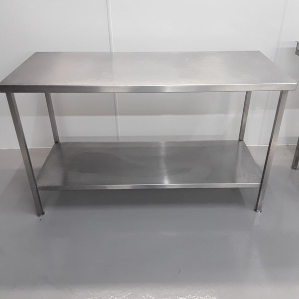 Used Stainless Steel Table (10756) - Bridgwater, Somerset