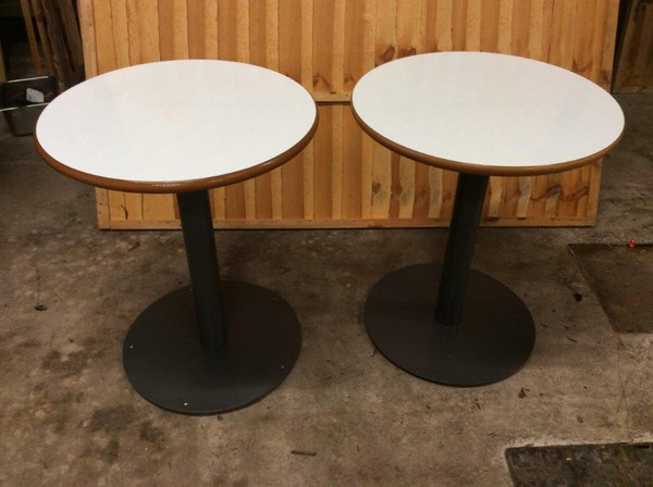 Coffe Shop Round Tables For Sale