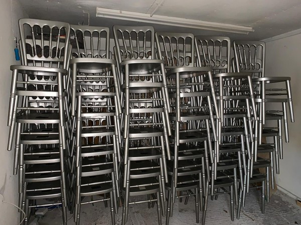 Stacking Cheltenham chairs