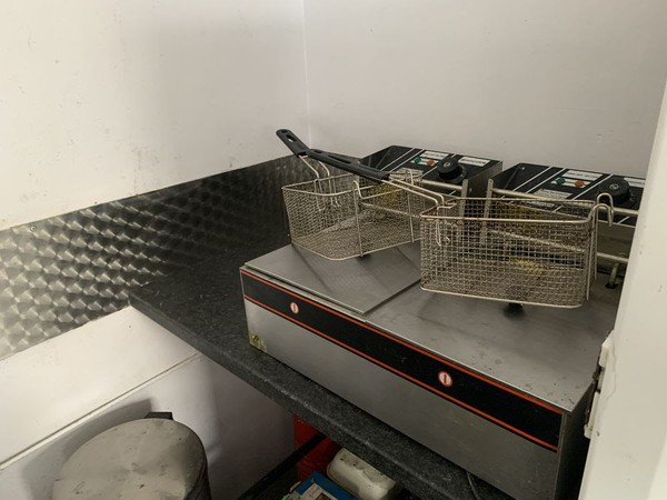 Selling catering trailer