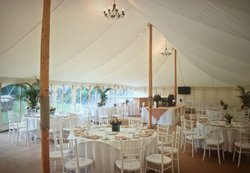 Pole marquee flat lining for sale