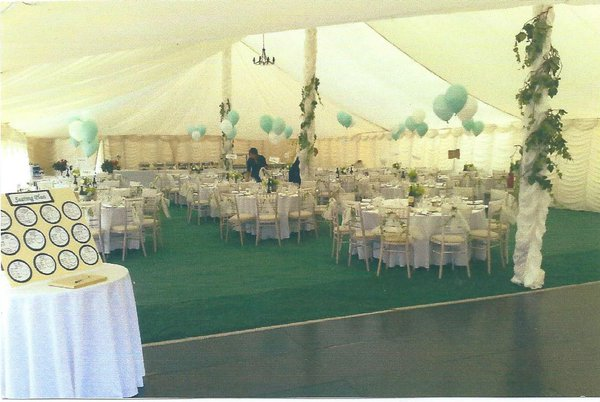 60Ft x 40ft marquee lining for sale