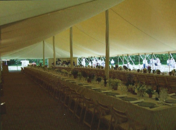 Flat linings for trad 40ft marquees