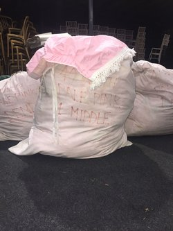Pale Pink Marquee linings