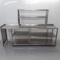 Used Stainless Steel Table Heated Gantry(10762)