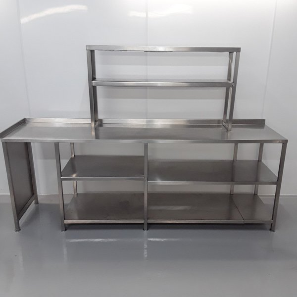 Used Stainless Steel Table Heated Gantry	(10762)