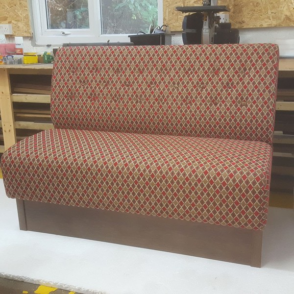 Reconditioned Banquette Seating Benches