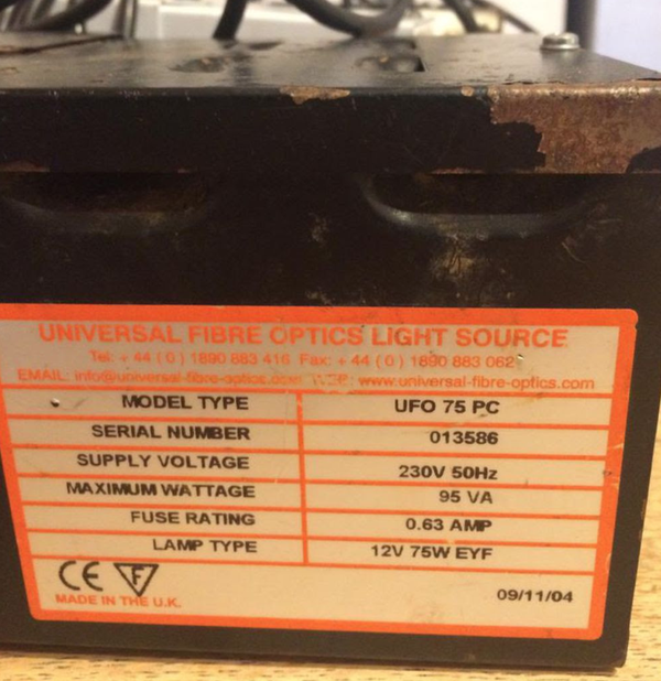 Fibre optic power boxes