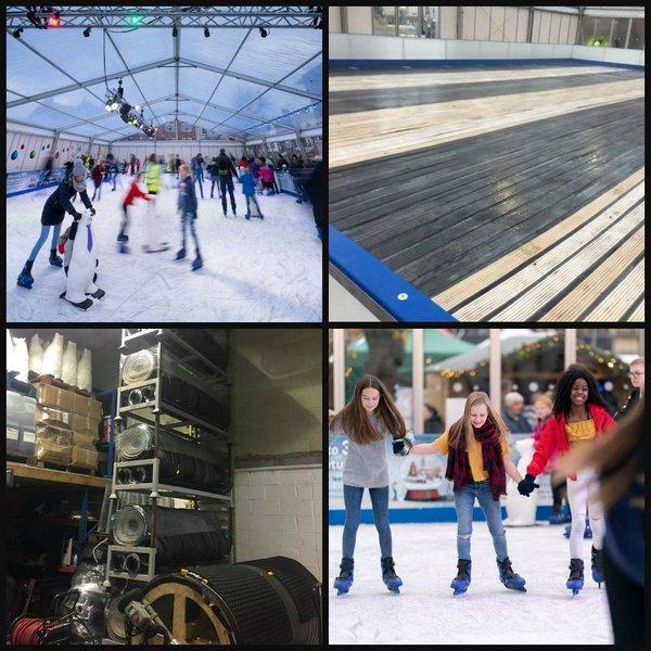 22m X 12m Ice Rink - Cheshire