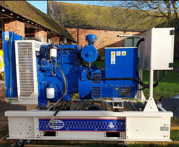 40KW 3 Phase Skid Mounted Generator- Bridgnorth, Shropshire