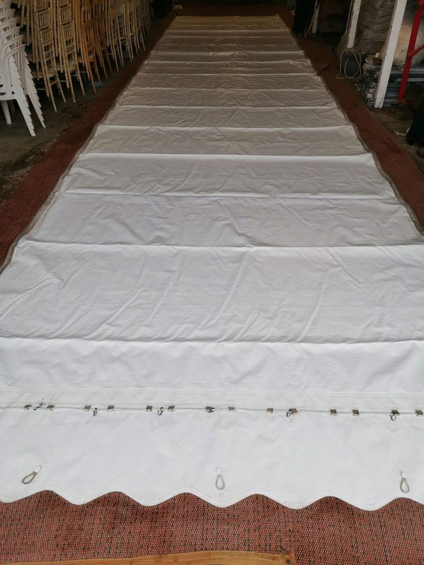Used marquee roof for sale