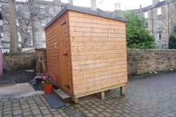 Wooden shed toilet block - perfect for campsite or renovations etc