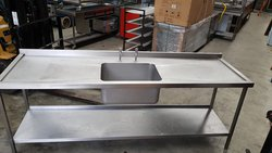 Large Sink Bowl With Drainer