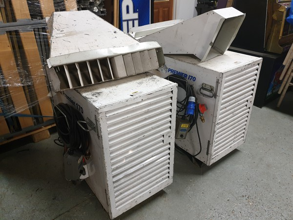 secondhand LB Premier 170 Gas Heaters