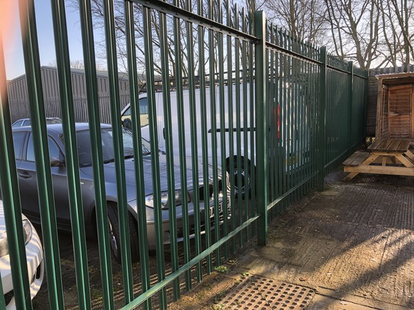 secondhand Palisade Fence Panels