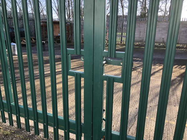 used Pair Of Palisade Gates