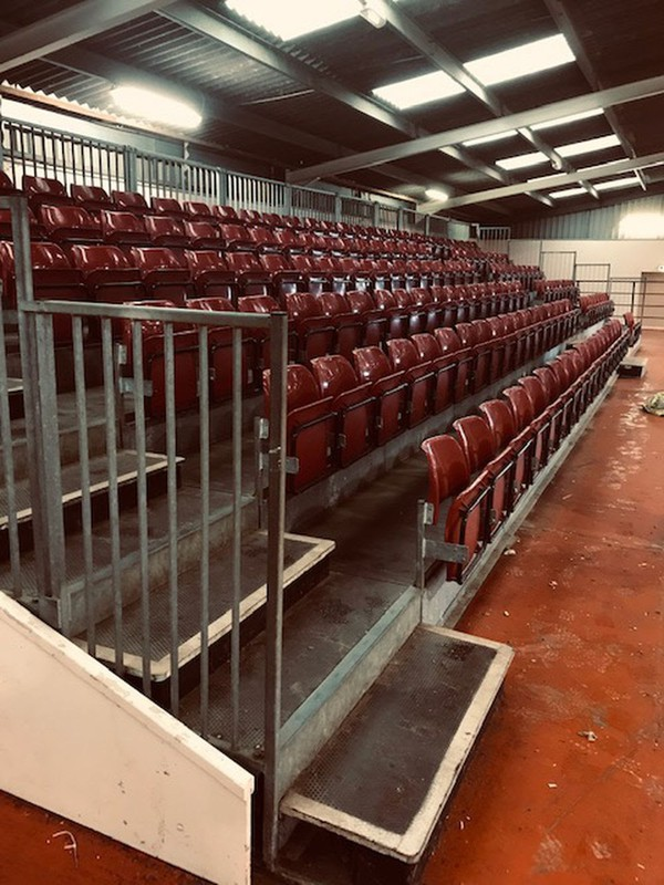 Venue tiered seating