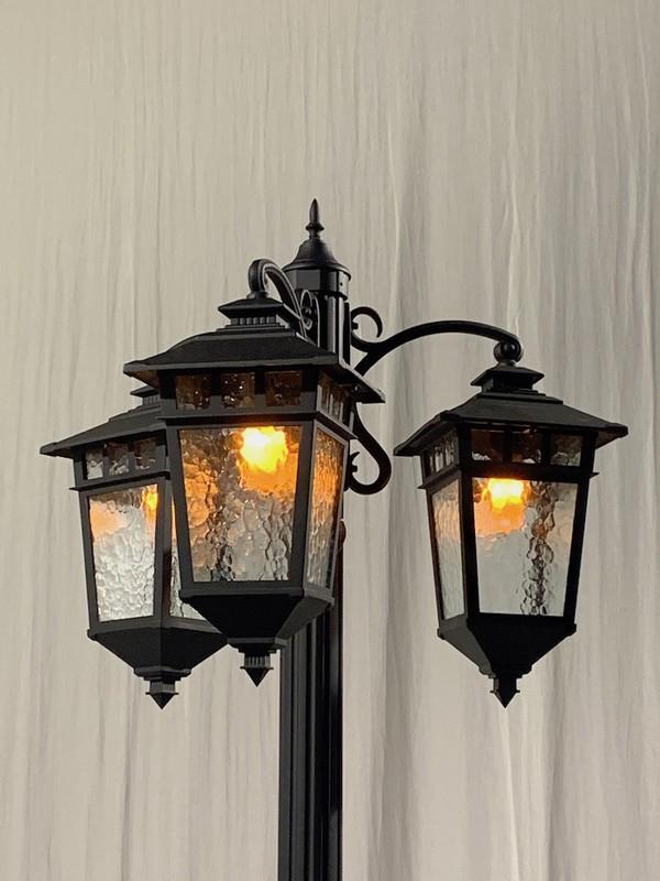 Retro Lamp Posts