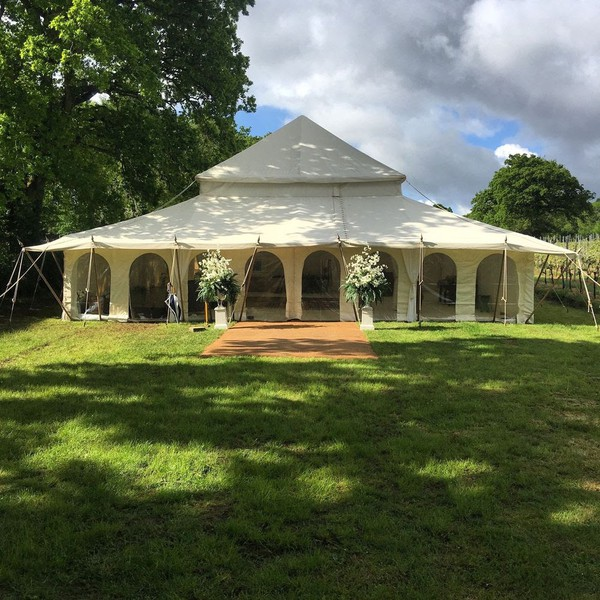 Marquee hire business located Cornwall