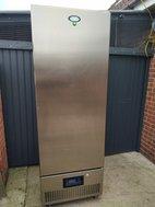 Foster upright freezer