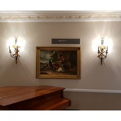 Pair of Beaumont and Fletcher Ornamental Regency Wall Lights