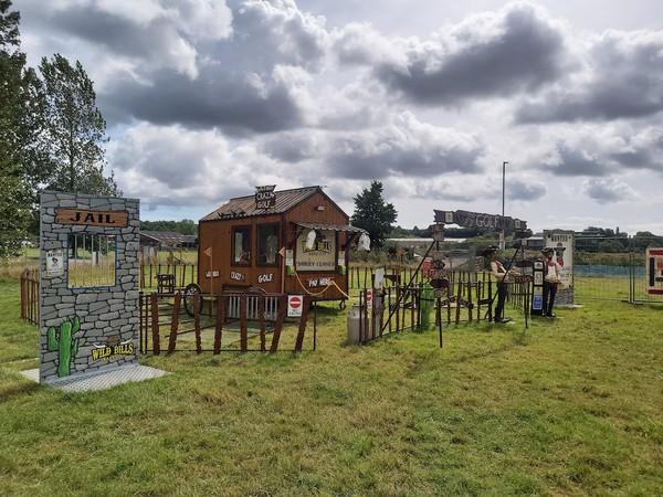 9 Hole Wild West Themed Mini 'Crazy' Golf Attraction
