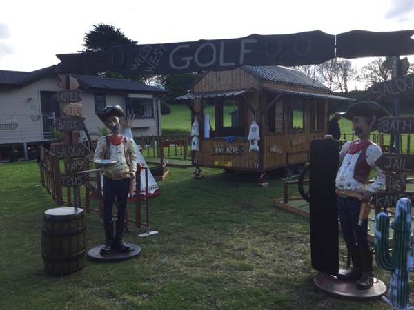 Crazy golf course for sale