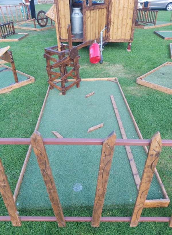 Used mini golf for sale
