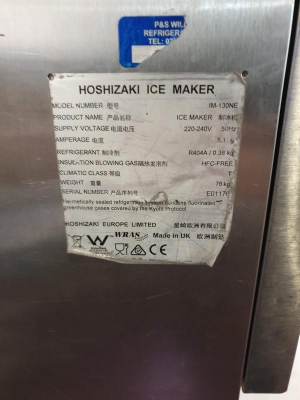 secondhand Hoshizaki IM-130NE