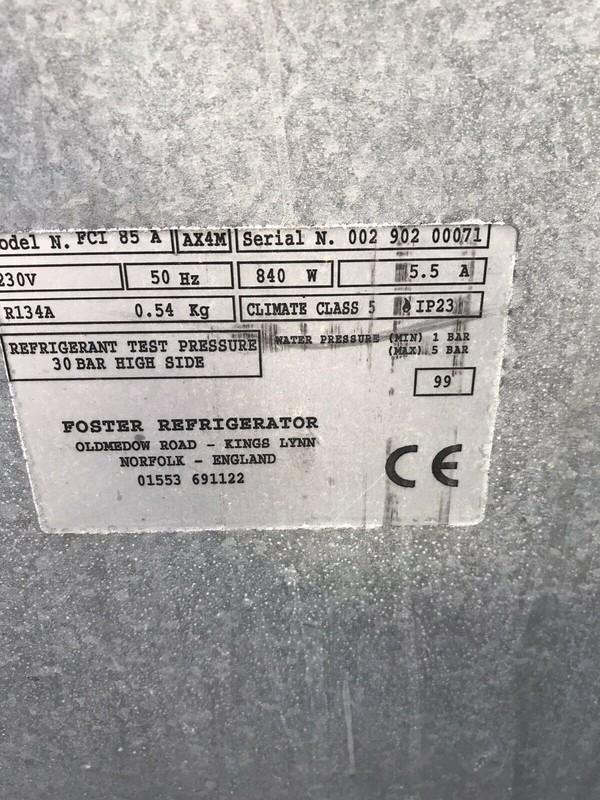Foster Refigerator FCI 85 A