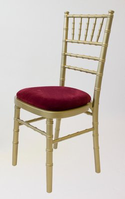 Gold / Gilt Chiavari Banqueting  Chairs