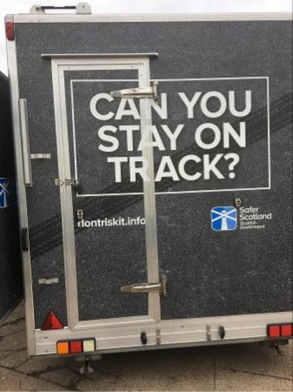 5.5m Exhibition trailer