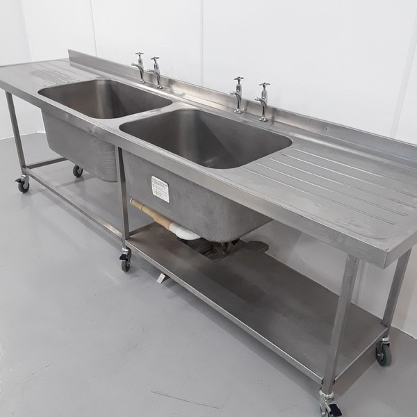 Used Stainless Double Sink (10814) - Bridgwater, Somerset 2