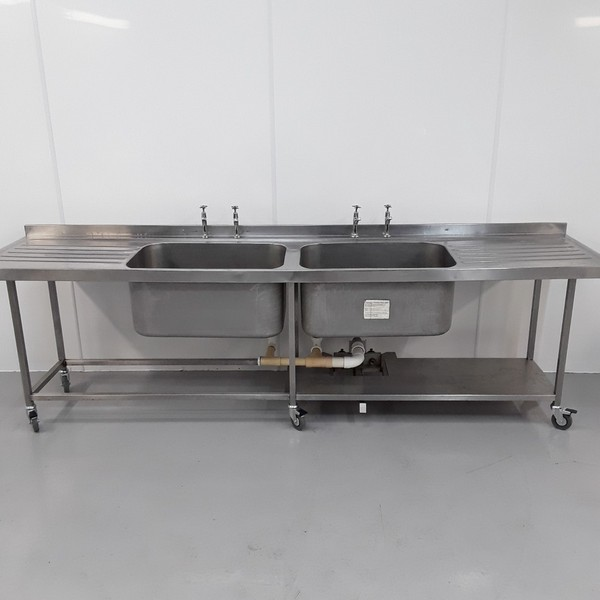 Used Stainless Double Sink (10814) - Bridgwater, Somerset 1
