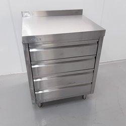 New B Grade Vogue CR988 Stainless Steel Table Drawer (10813) - Bridgwater, Somerset