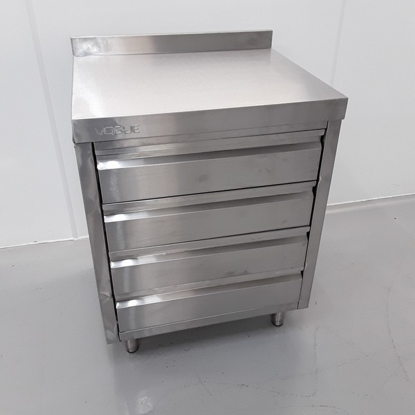 New B Grade Vogue CR988 Stainless Steel Table Drawer (10813) - Bridgwater, Somerset