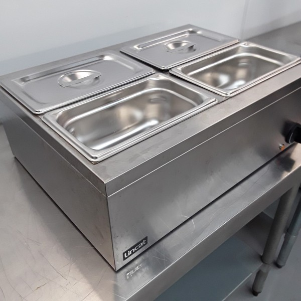 secondhand Lincat LBM2W 4 Pot Wet Dry Bain Marie (10822) - Bridgwater, Somerset