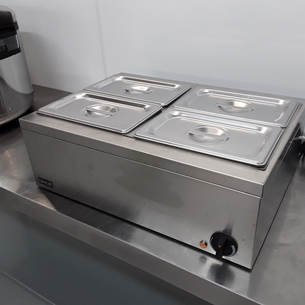 Used Lincat LBM2W 4 Pot Wet Dry Bain Marie (10822) - Bridgwater, Somerset