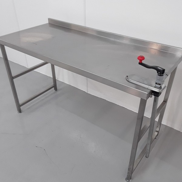 1.5m Stainless Steel Table For Sale